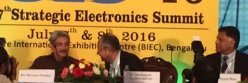 Centum in Strategic Electronics Summit 2016