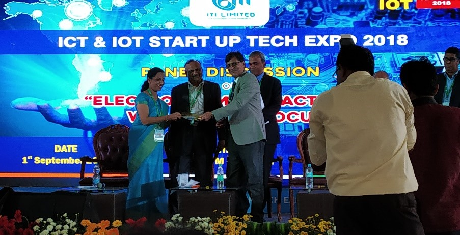 Centum in ICT and IoT Startup Tech Expo-2018, Bangalore