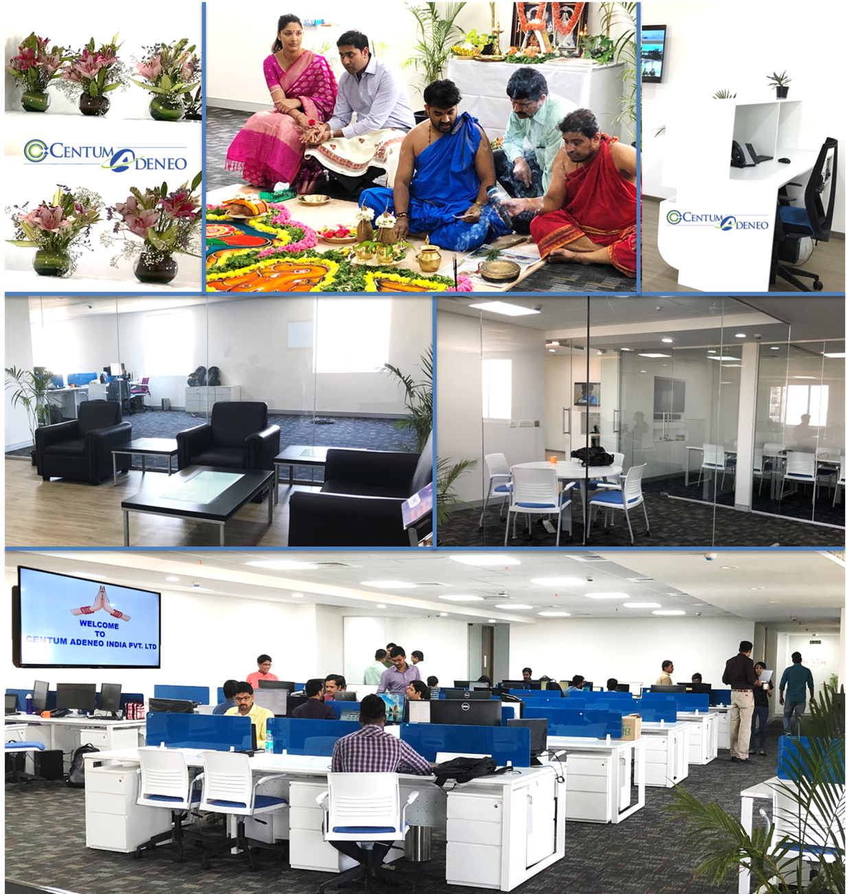 Inauguration of the new offices for Centum Adeneo India