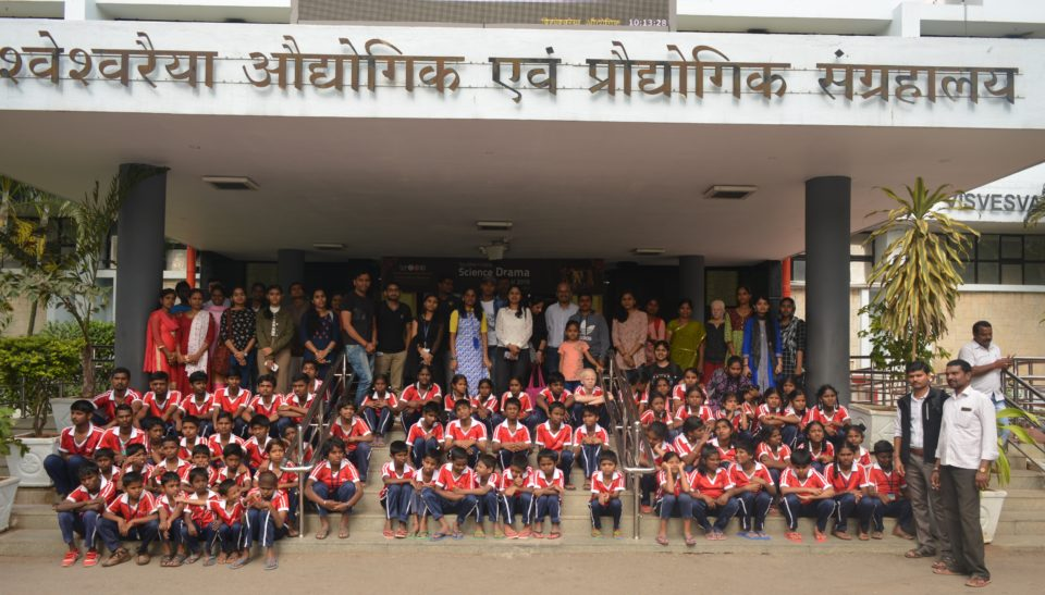 New year 2020 with the Mathru School Blind kids