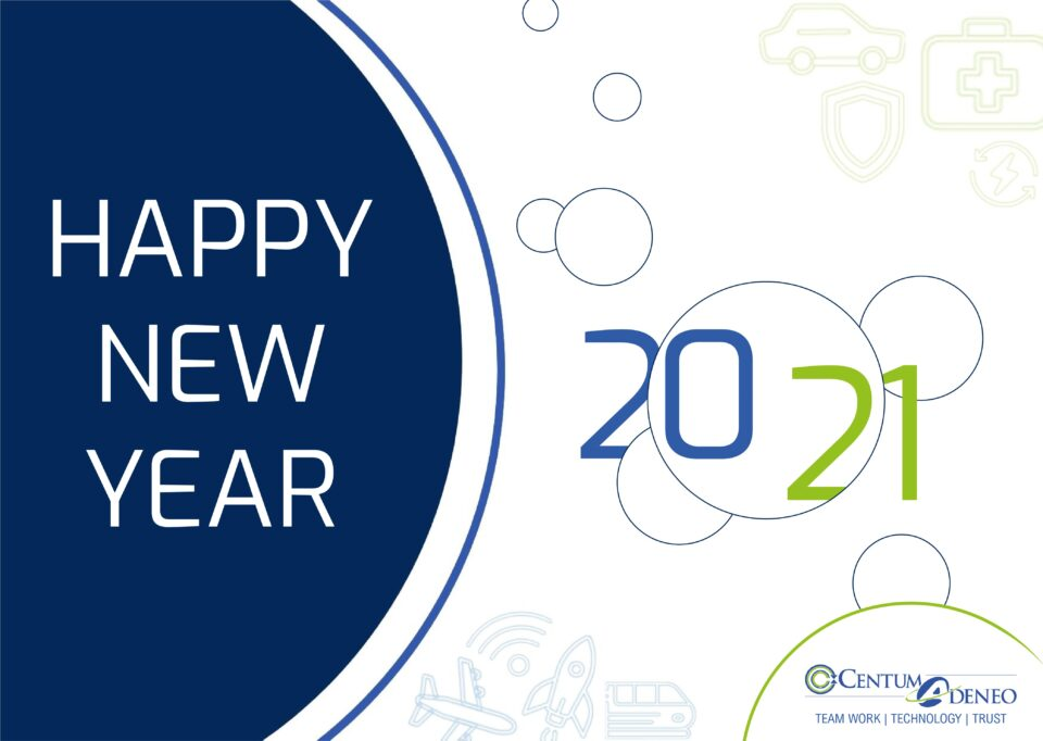 Happy New Year 2021  from Centum's teams !